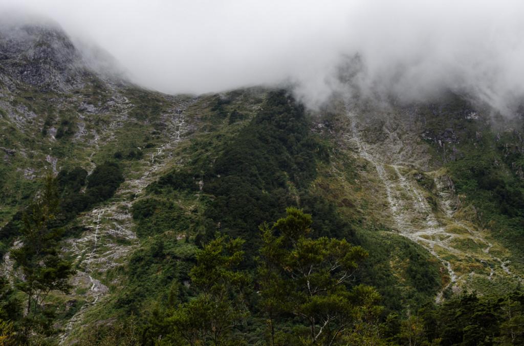 Waterfalls, Milford Track