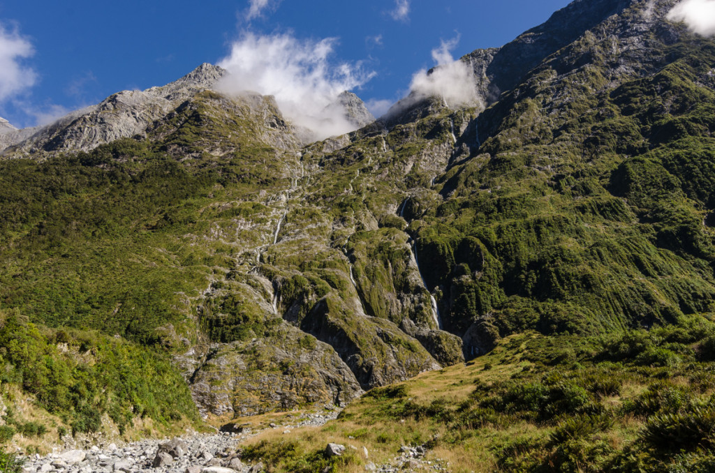 Waterfalls, Milford Track