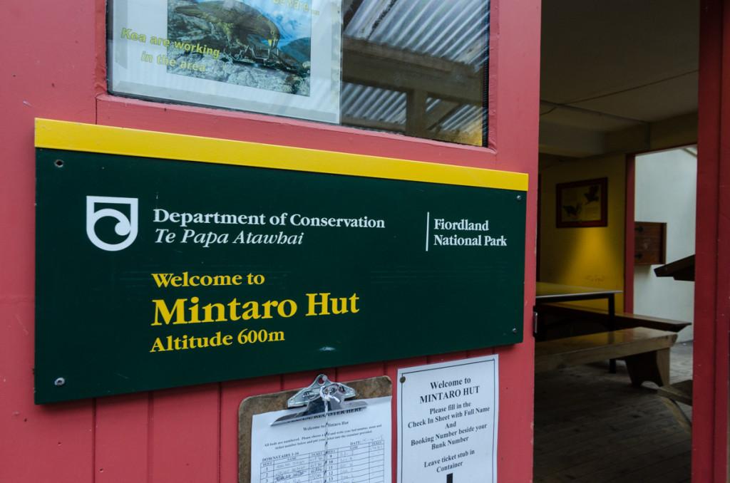 Mintaro Hut, Milford Track