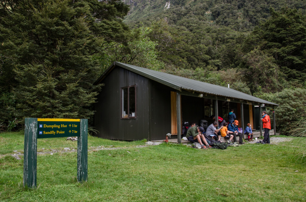 Quentin Shelter, Milford Track