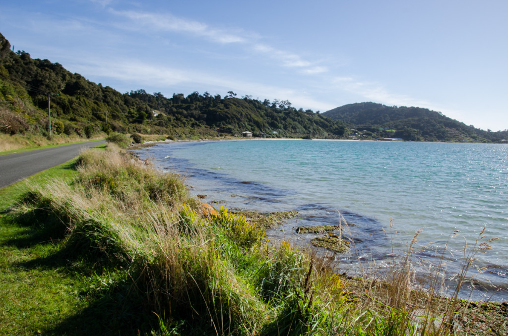 Road from Oban to Lee Bay, Stewart Island