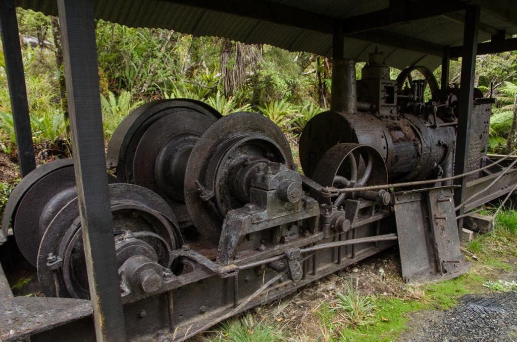 Log hauler, Rakiura Track