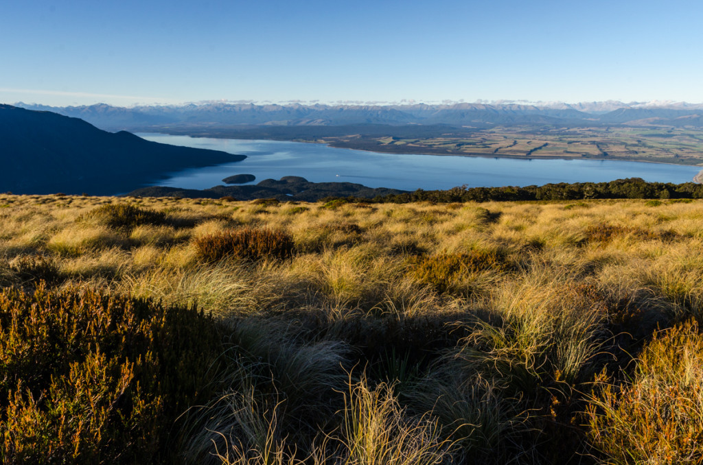 Lake Te Anau from Kepler Track
