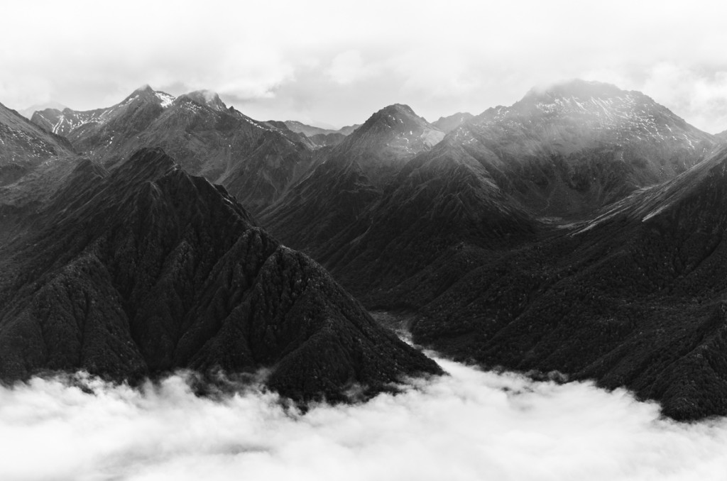 Views from top of Mount Luxmore, Kepler Track