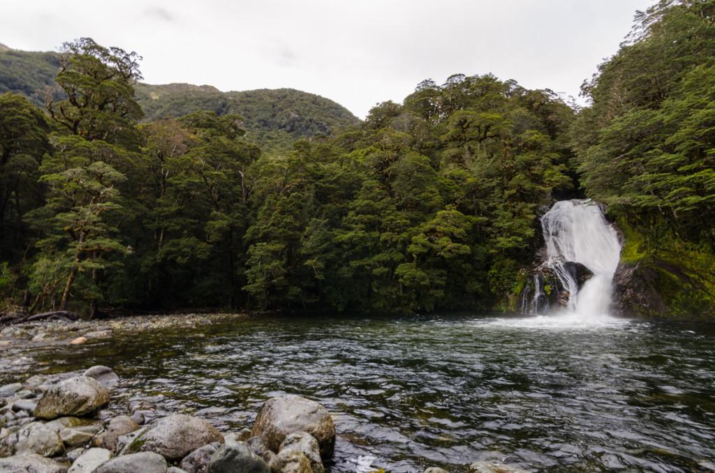Iris Burn Waterfall, Kepler Track