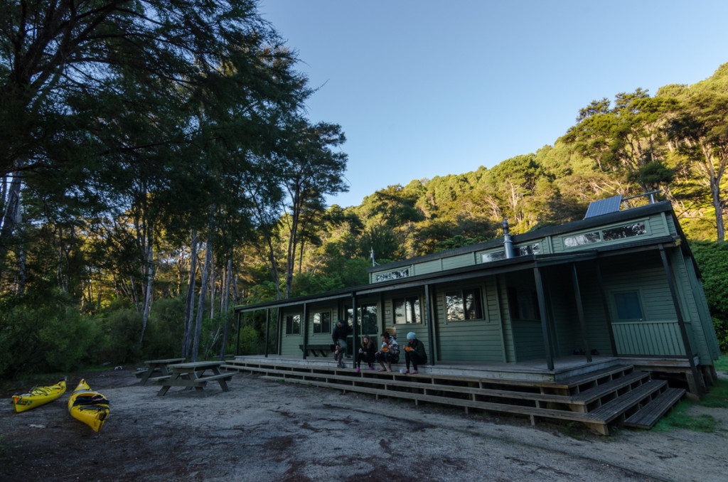 Bark Bay Hut, Abel Tasman Coast Track