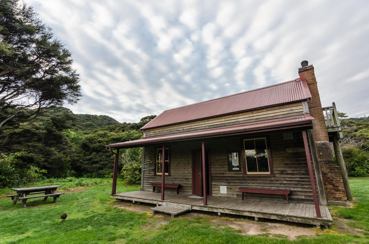 Whariwharangi Hut, Abel Tasman Coast Track