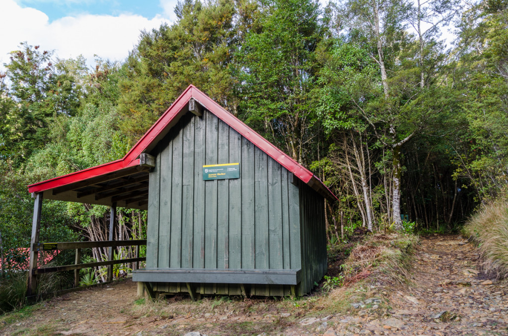 Aorere Shelter, Heaphy Track