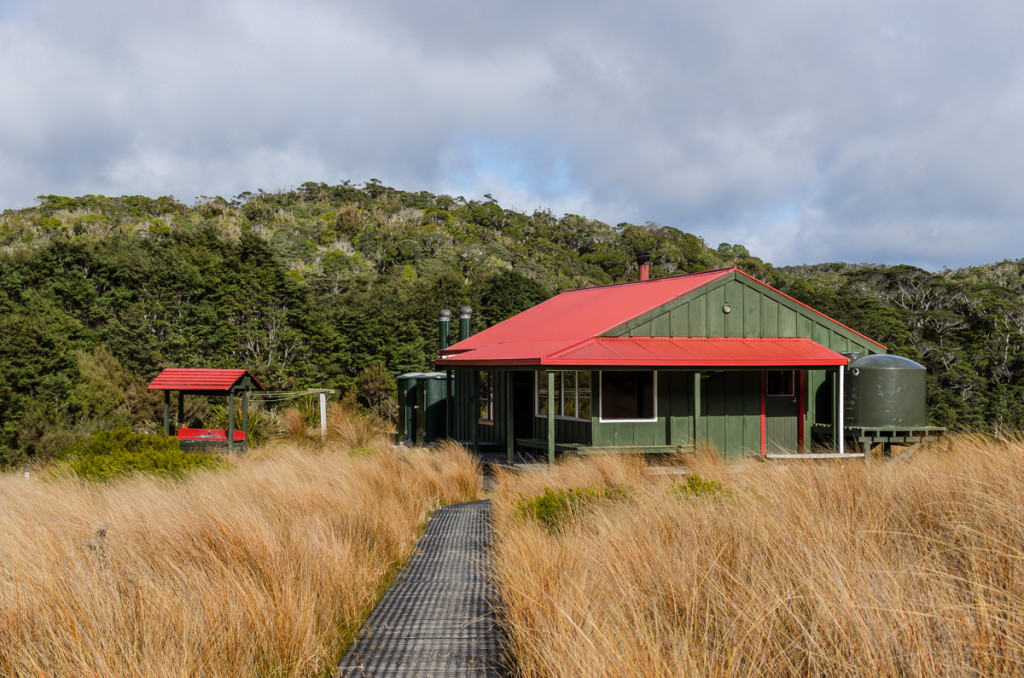 Saxon Hut, Heaphy Track
