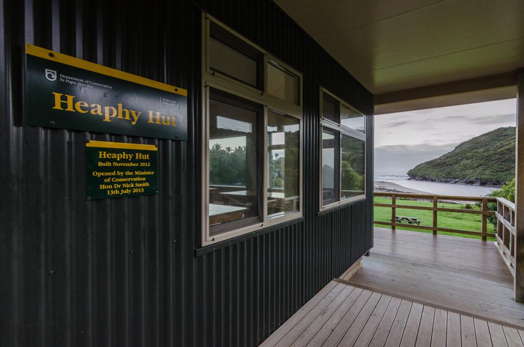 Heaphy Hut, Heaphy Track