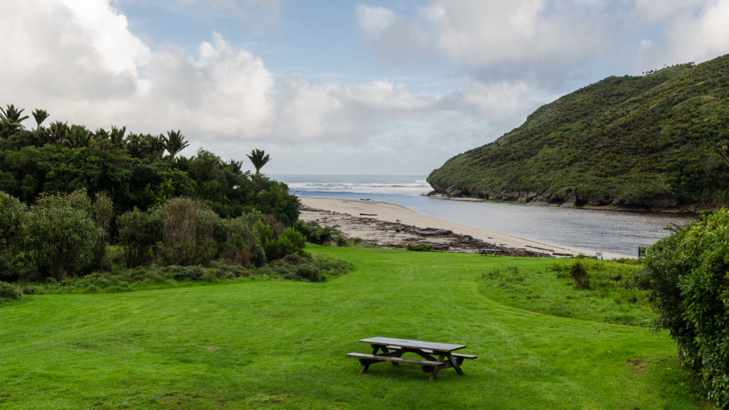 Views from Heaphy Hut, Heaphy Track