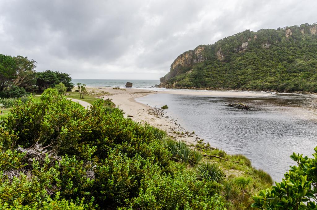 Kohaihai River mouth, Heaphy Track