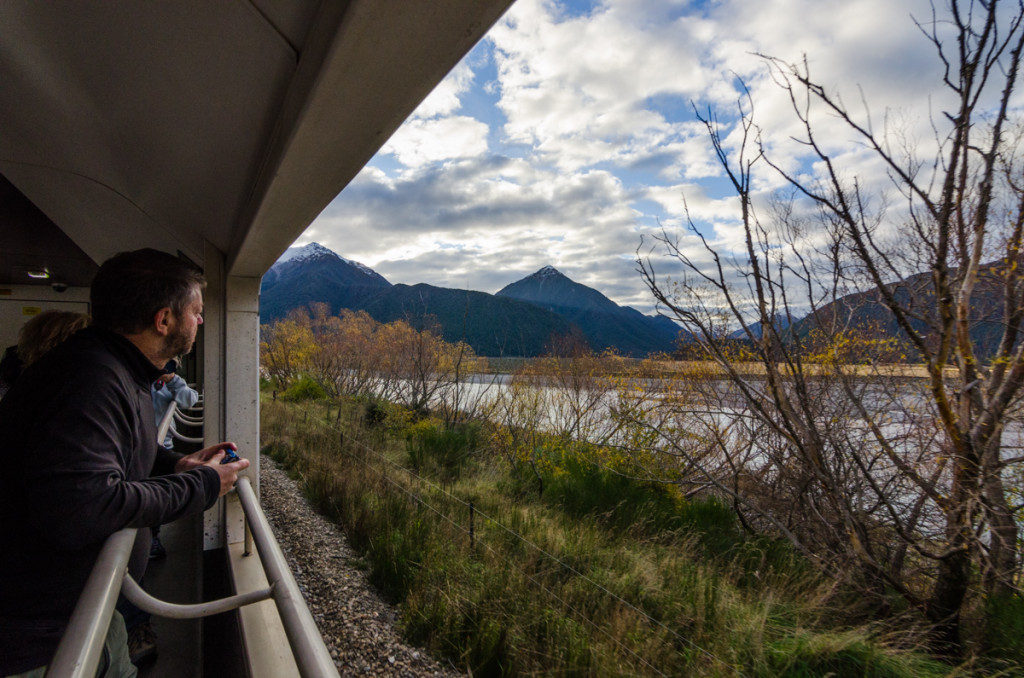 Open-air car, Tranzalpine train