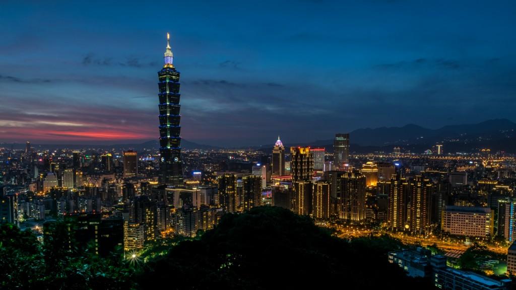 Taipei 101 from Elephant Mountain