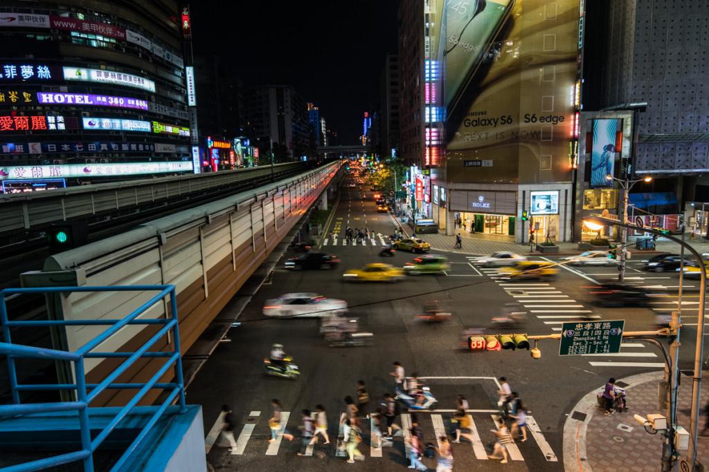 Taipei near Sogo Department Store