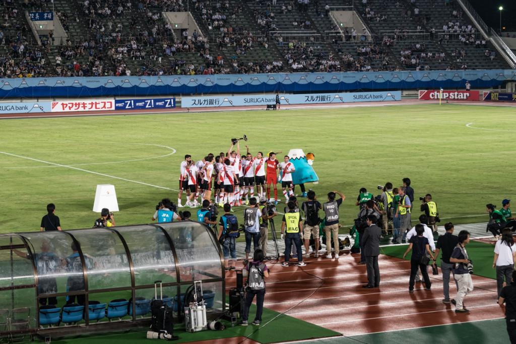 River Plate vs Gamba Osaka, Suruga Bank Championship