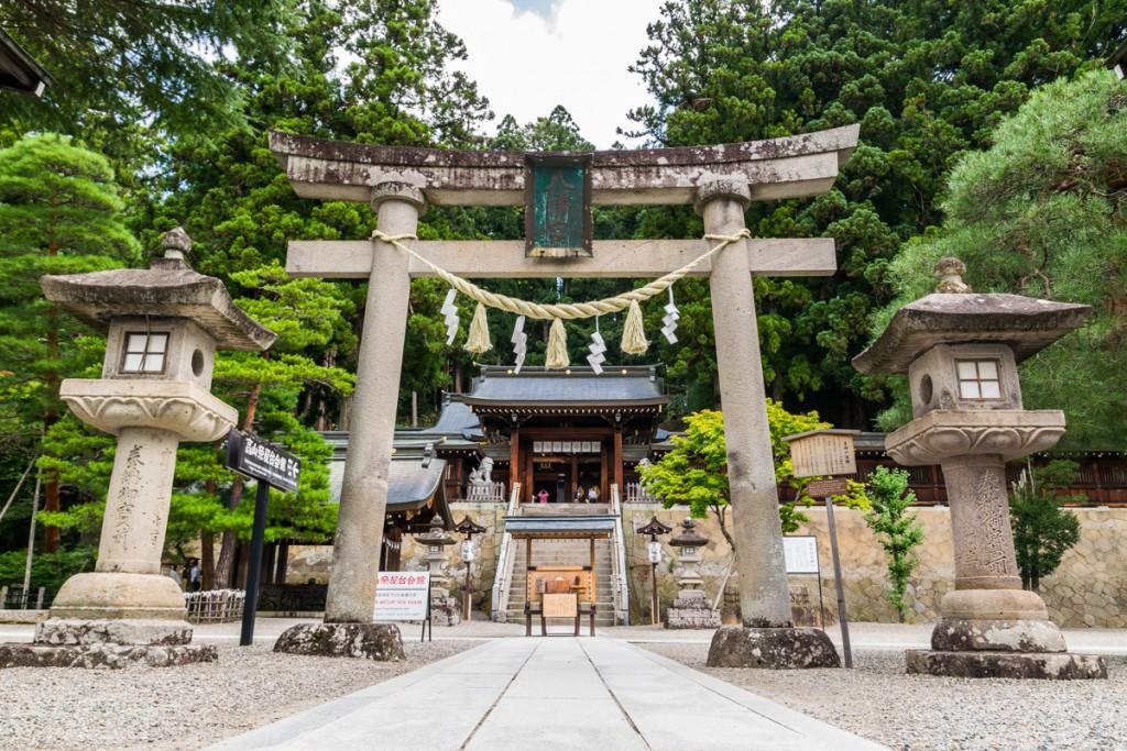 Sakurayama Hachiman-gu Shrine, Takayama