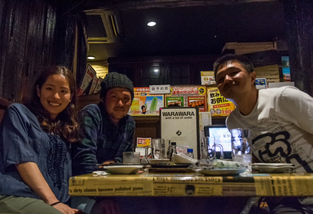 Meeting up with Kozzy and Tomo in Tokyo