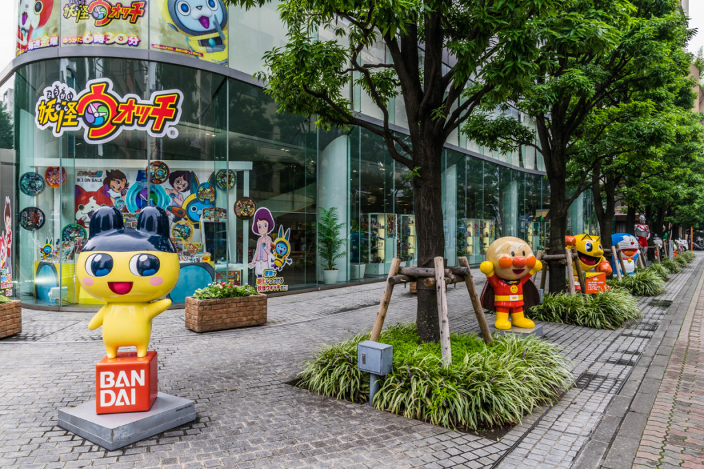 Bandai Headquarters, Tokyo