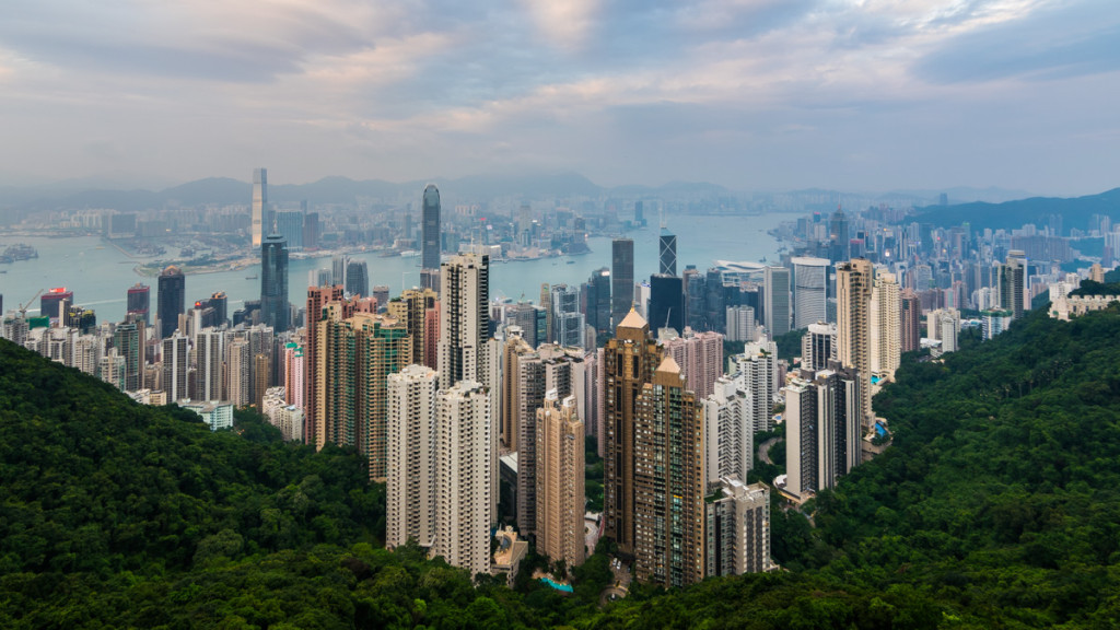 Hong Kong, from Victoria Peak