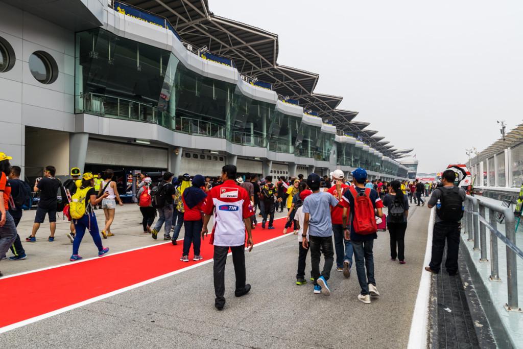 Pitlane Walk, Malaysian MotoGP