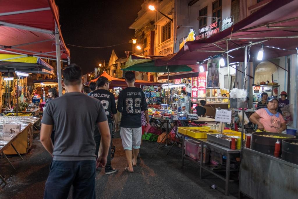 Night market, Malacca, Malaysia