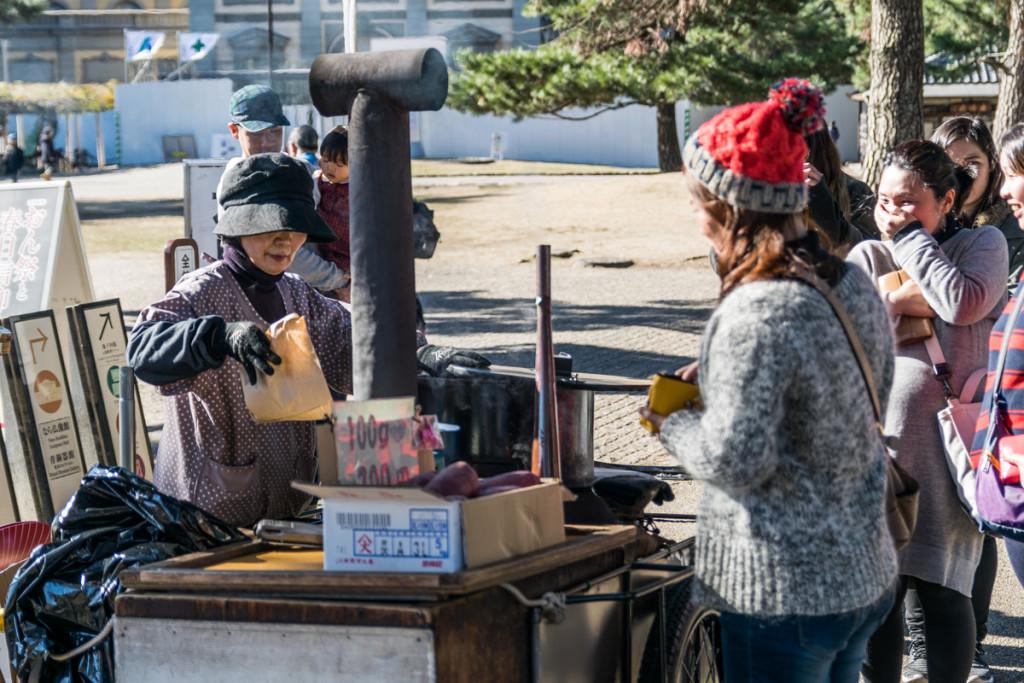 Street vendor, Nara