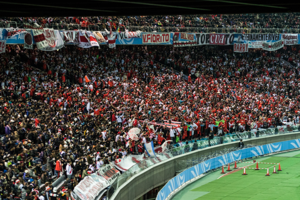 River Plate Supporters, FIFA Club World Cup