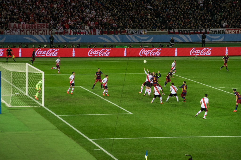 River Plate vs FC Barcelona, FIFA Club World Cup