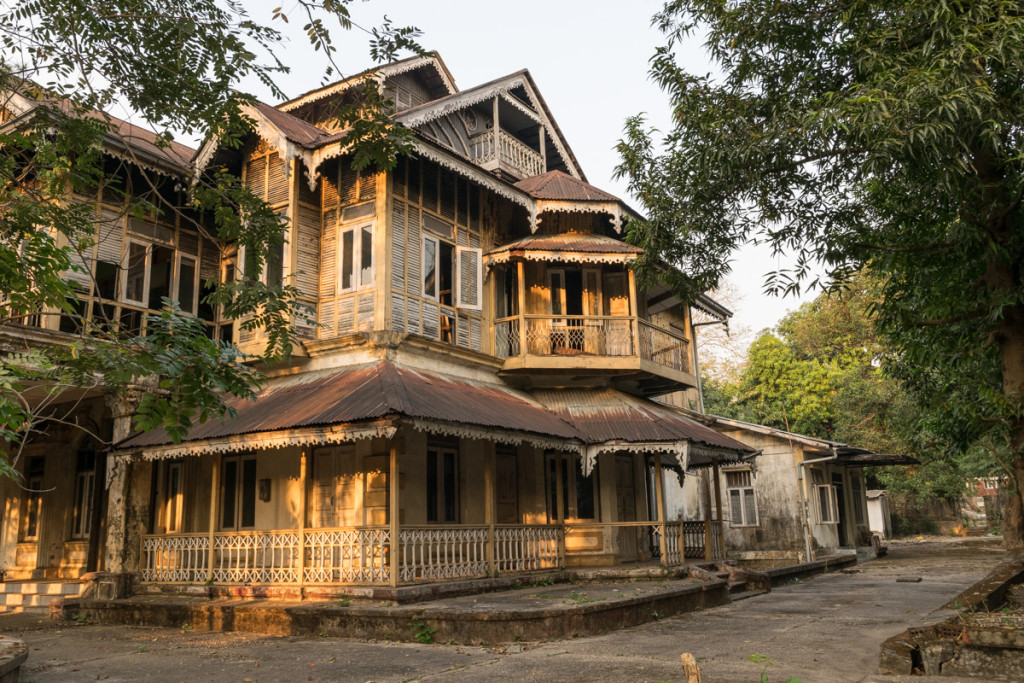 Old colonial house, Yangon