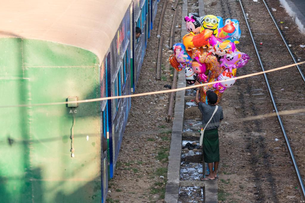 Phaya Lan Train Station, Yangon