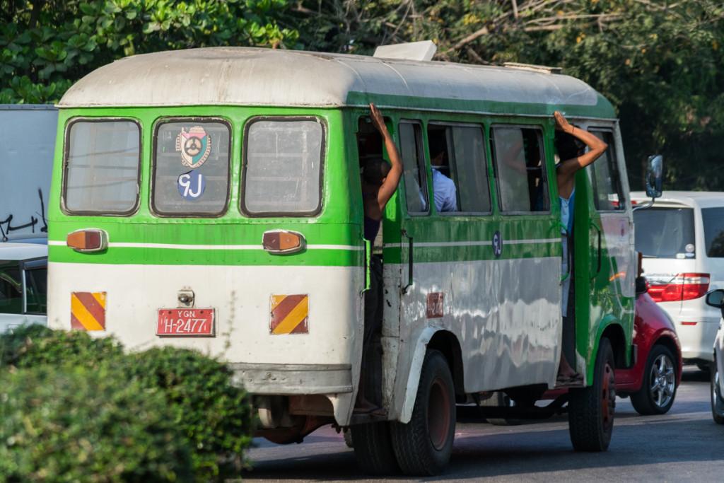 Bus, Yangon, Myanmar