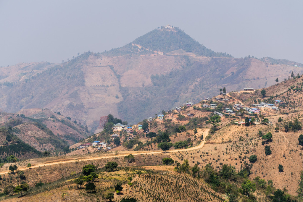 Hike from Kalaw to Inle Lake, Myanmar