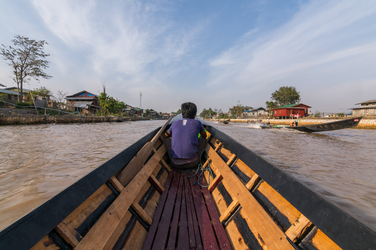 Boat ride, Inle Lake