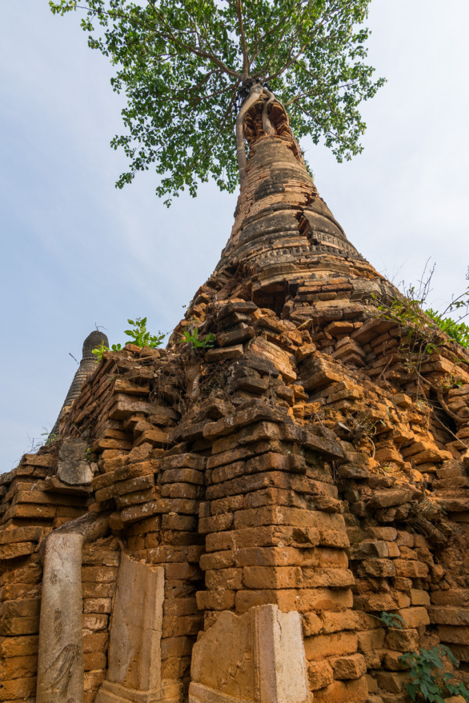 Pagodas at Indein Village, Mynamar