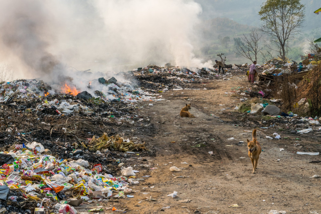 Landfill outside Hsipaw