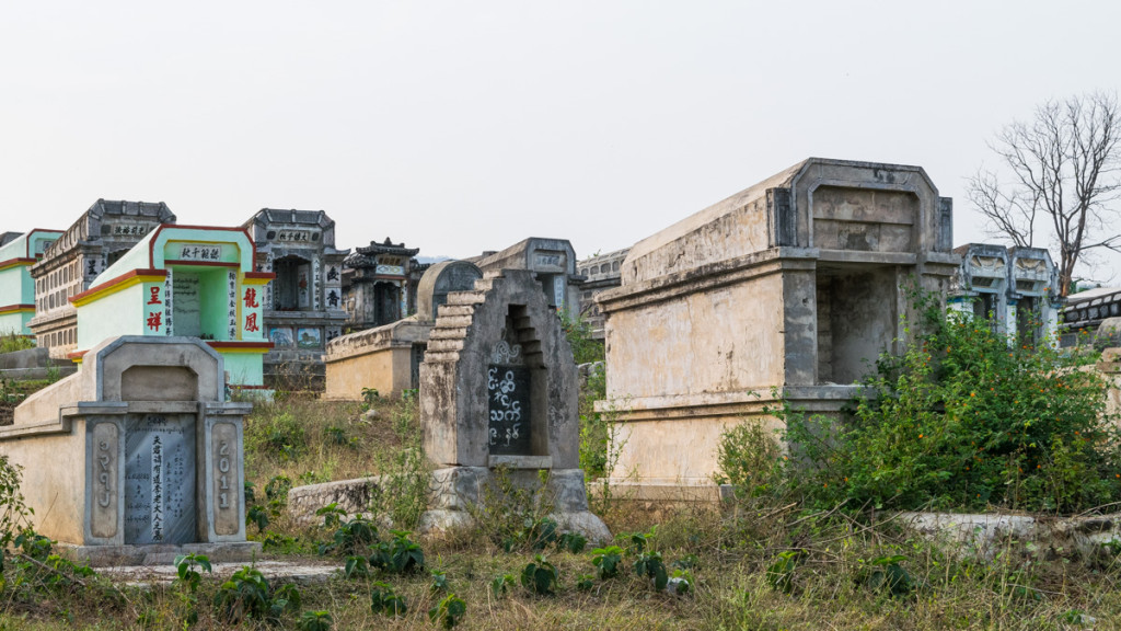 Cemetery outside Hsipaw