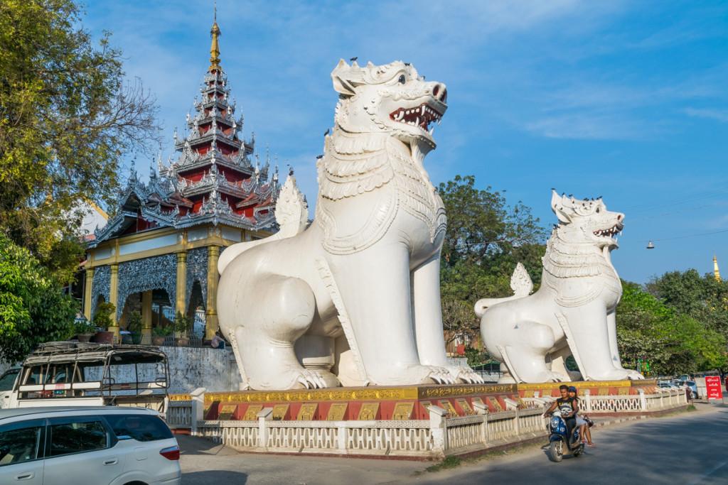 Entrance at base of Mandalay Hill
