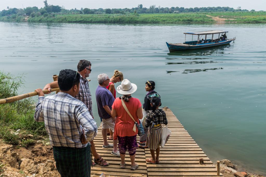 Boat ride to Inwa (Ava), Myanmar