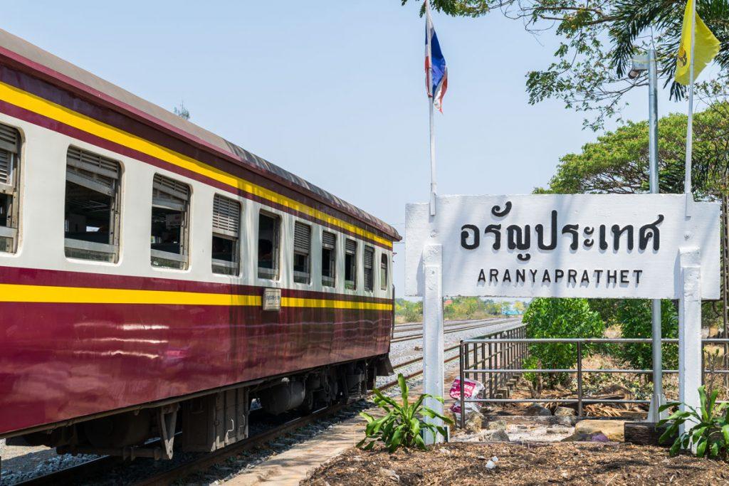 Aranyaprathet Railway Station, Thailand