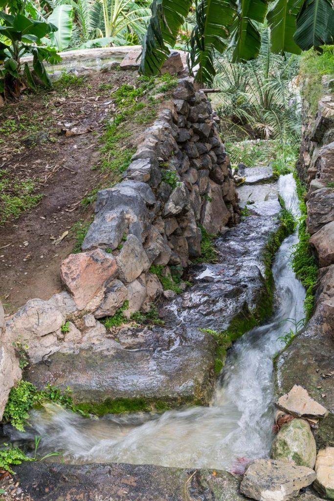 Water canals, Misfat Al Abryeen, Oman