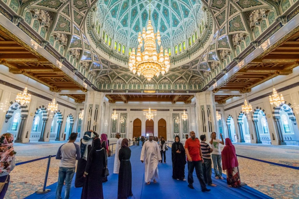 Main Prayer Hall, Sultan Qaboos Grand Mosque