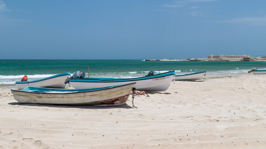 Boats by Arabian Sea, Oman