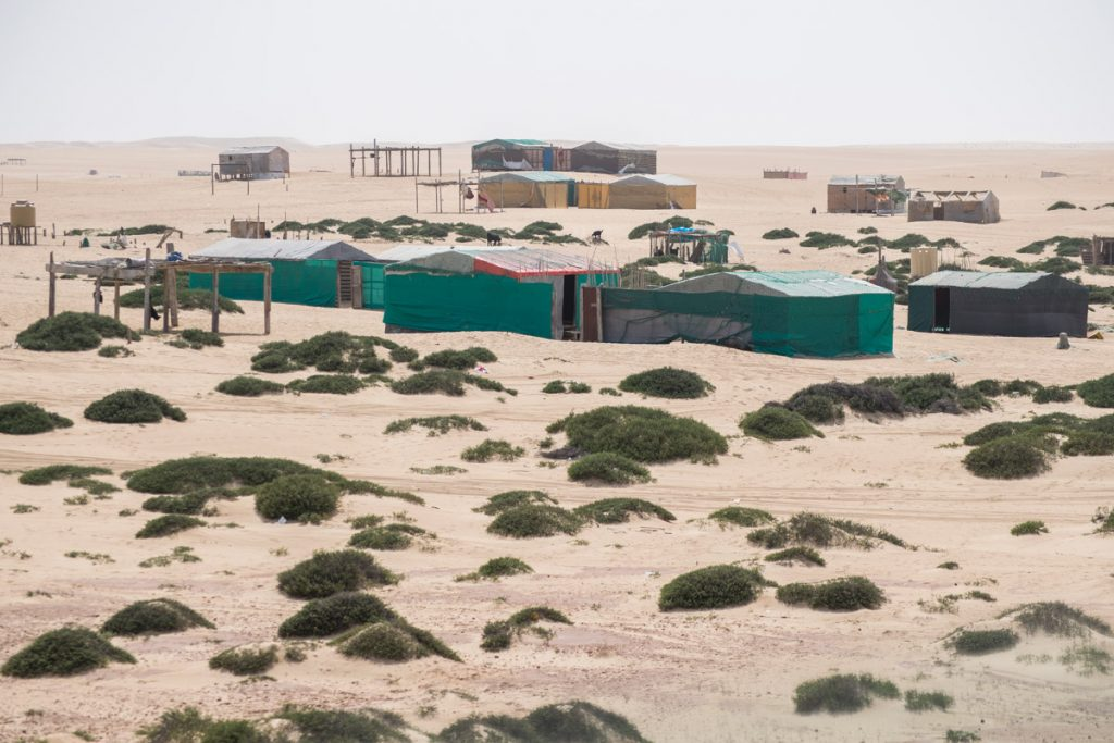 Bedu settlements, Sharqiya (Wahiba) Sands