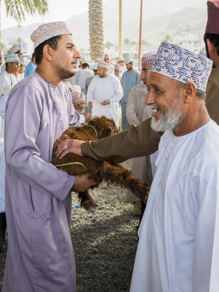 Goat Market in Nizwa, Oman