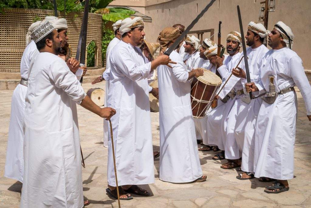 Performance at Nizwa Fort, Oman