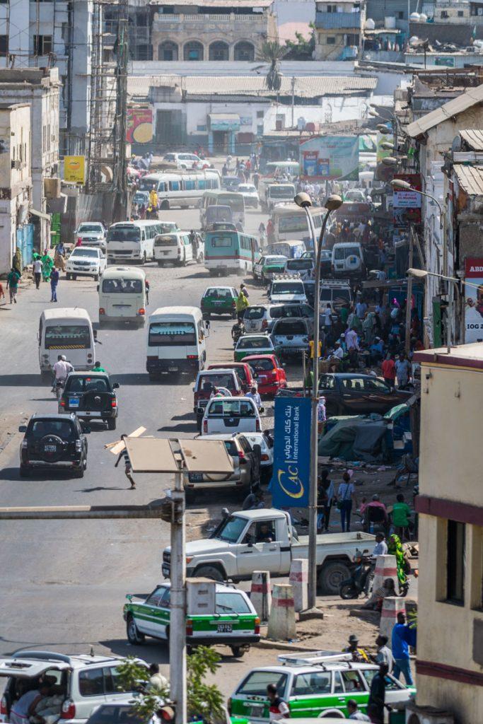 Strees of Djibouti City