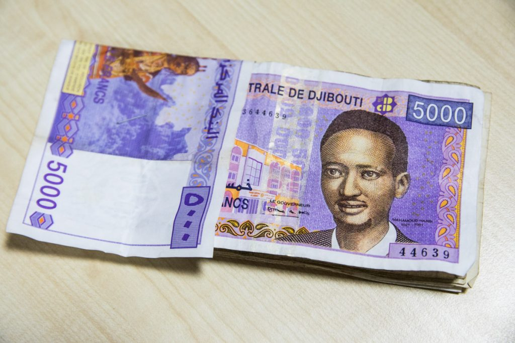 The franc, currency of Djibouti