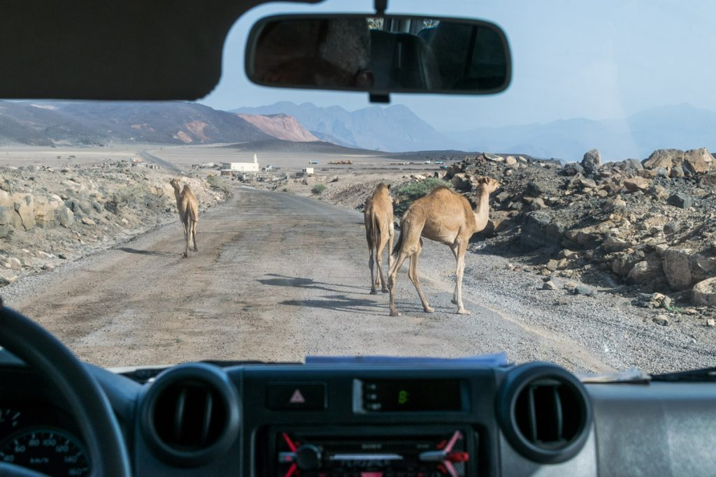 Road to Lac Assal, Djibouti