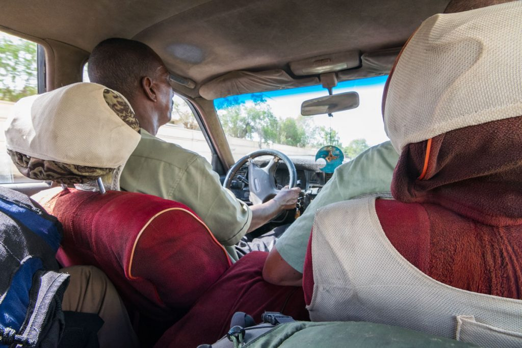 An honest taxi driver, Djibouti City
